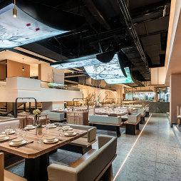 餐饮空间设计-新陶然川式创意菜——卡座图片