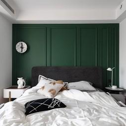 潮流混搭三居住宅——卧室图片