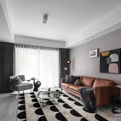 首发|时光慢递,破解黑白灰的时尚密码——客厅图片