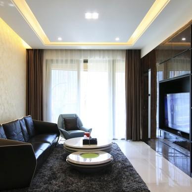 追求品质生活丨133平方打造港式两房空间_3938135