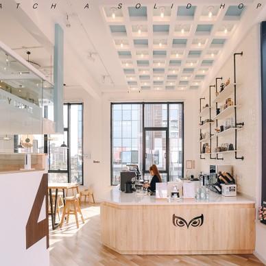 直男老板的清新咖啡店——前台图片