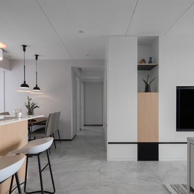 白色•简约无压感的家