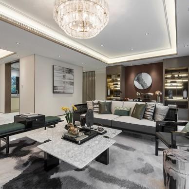 【青羽翠】怡然生活,雅致空间——客厅图片