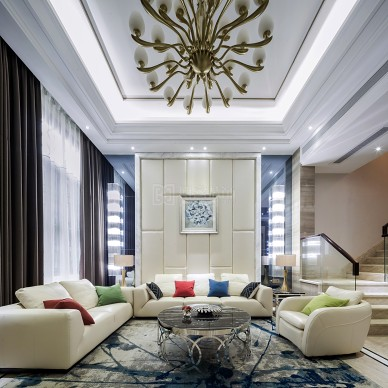 455㎡別墅設計,愉悅的生活范!_3945479