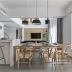 欢乐佳园装饰|215平异形复式空间大改造——餐厅图片