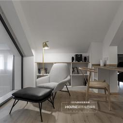 歡樂佳園裝飾|215平異形復式空間大改造——書房圖片