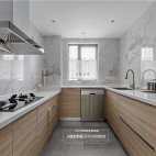 欢乐佳园装饰|215平异形复式空间大改造——厨房图片