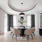 麥卡洛陳設 |現代簡約別墅豪宅——餐廳圖片