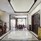 中式古典別墅豪宅——餐廳圖片