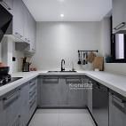 黑白灰的現代簡約——廚房圖片