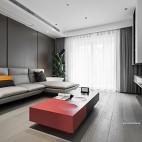 【橘子国】,暖爸的新家,温柔又治愈——客厅图片