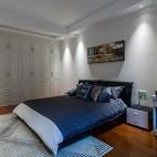 色彩改变生活,玳瑁蜂蜜点缀经典黑白灰——客房图片