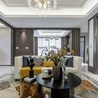 灰調浪漫-歐式豪華——客廳圖片