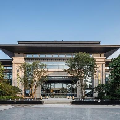 万隆湖景一号售楼中心——外观图片