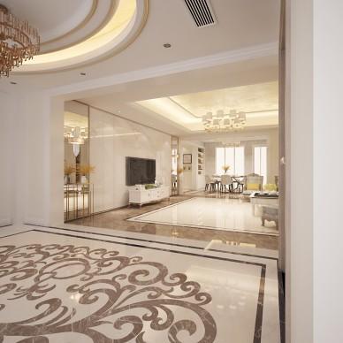 于晴广东普宁市美式轻奢风格设计_3950250