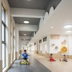 洞头区灵昆幼儿园——走廊图片