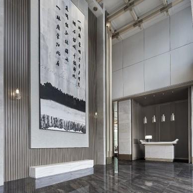 易和新作 | 禹洲合肥售楼处——前台图片