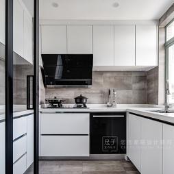 【尺子室内设计】灰白格——厨房图片