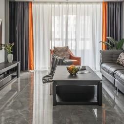 繁华都市中的宁静居所——客厅图片
