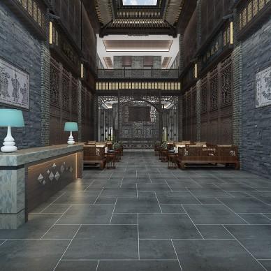峰阁空间   中式风艺术酒店设计_3963502