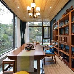 唯米设计——新中式混搭:茶室图片