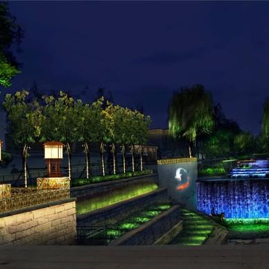 北河沿运河夜景照明提升工程意象_3964665