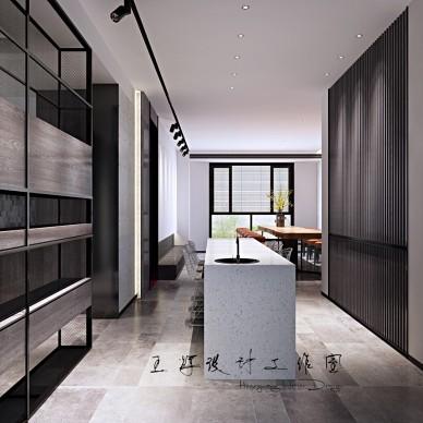 工业风公寓设计_3968111