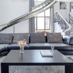 顶层的复式大宅——客厅图片
