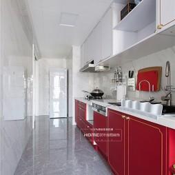 欢乐佳园装饰|这一抹红,热情浪漫——厨房图片