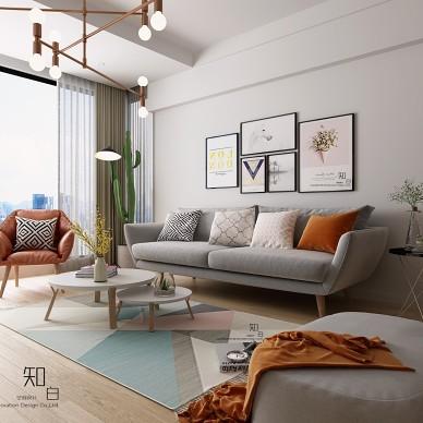 北欧简约住宅空间设计_3976428