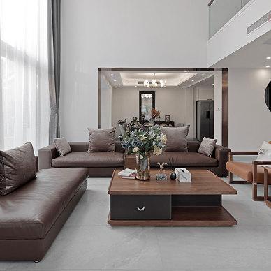 280平米混搭轻奢风——客厅图片