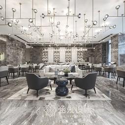 涵永设计|融创·内蒙古玉兰天宸售楼处——洽谈区图片