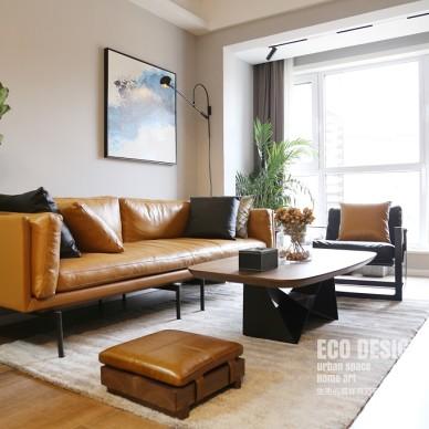 温暖的北欧极简——客厅图片