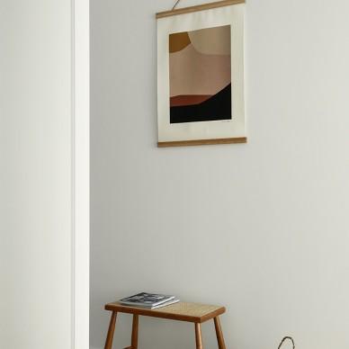 木色+白色,打造简单、温馨的日式小屋_3982854