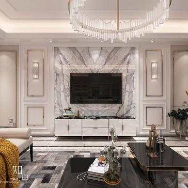 经典欧式住宅空间设计_3983035