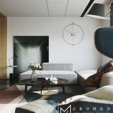 【吉米设计】现代|阳光下的慵懒——客厅图片