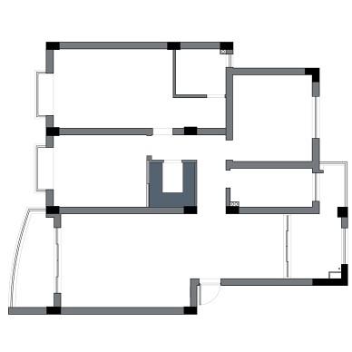设计师在儿童房设计了2道房门_3988970