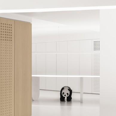 寸匠|熊猫,厦门全新办公空间_3991454