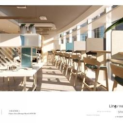 上海付费咖啡自习室设计  翎栖设计_3992611
