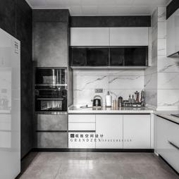金地天际-北欧极简——厨房图片