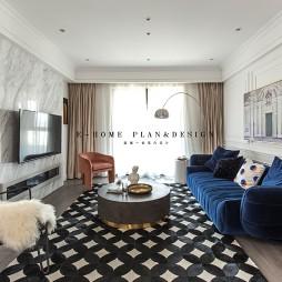 潮流混搭的家——客廳圖片