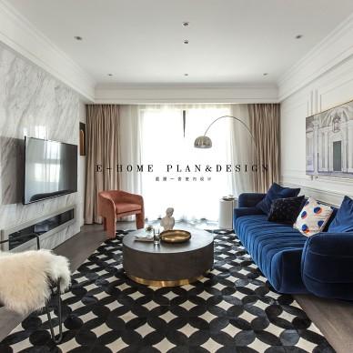 潮流混搭的家——客厅图片