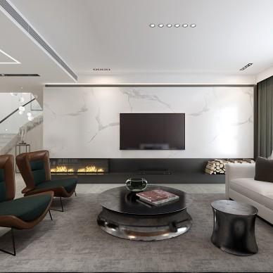 玫瑰谷別墅現代極簡設計_3994286