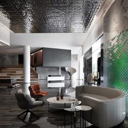 恒福陶瓷总部展厅——休息区图片