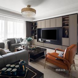輕奢風|高級而有品味的質感生活——客廳圖片