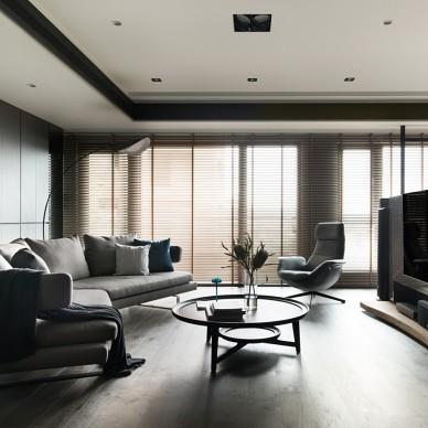 揽山揽水的大器风格之家——客厅图片