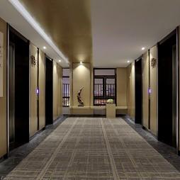 东莞东方银座国际酒店——电梯间图片