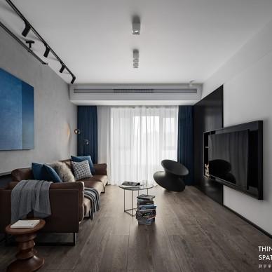 简约中的色彩印象派—客厅图片