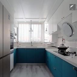《鹫尾花绽》—轻奢美式——厨房图片