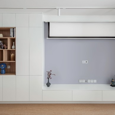 简单的色调,温暖的家_4012430